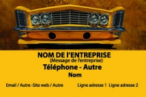 Automobile et Transports carrosserie jaune