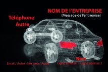Automobile et Transports carrosserie garage Rouge noir