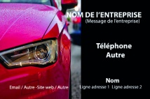 Automobile et Transports carrosserie garage Rouge